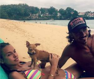 Vanessa Lawrens et Julie Guirado en vacances aux Caraïbes