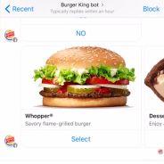 Burger King : commander son Whopper sur Facebook, c'est possible