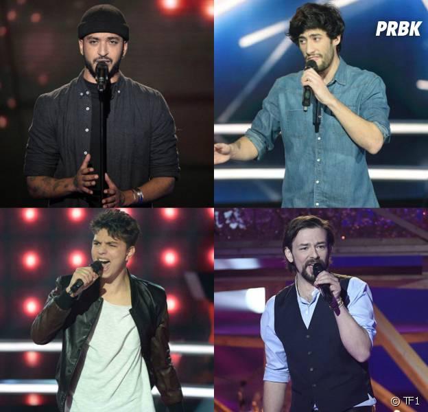 The Voice 5 la finale : qui de Clément Verzi, Slimane, Antoine et MB14 est le favori des sondages ?