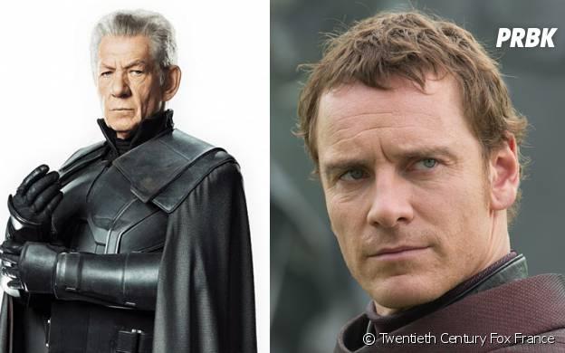 X-Men Apocalypse : Magneto avant/après