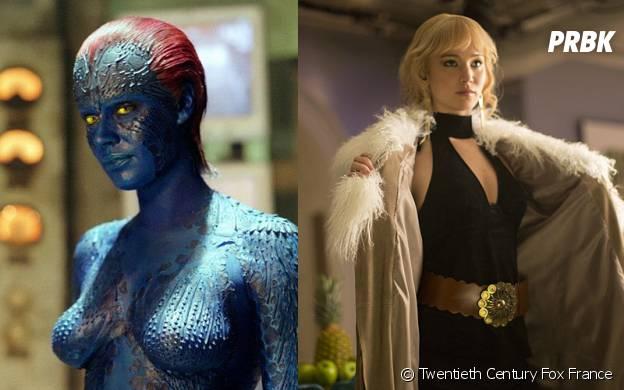 X-Men Apocalypse : Mystique avant/après