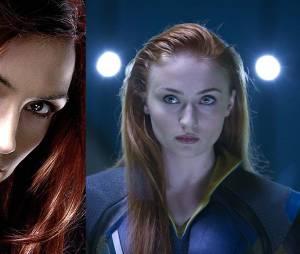 X-Men Apocalypse : Jean Grey avant/après