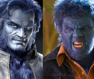 X-Men Apocalypse : Le Fauve avant/après