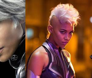 X-Men Apocalypse : Tornade avant/après