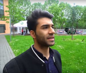 Le Youtuber Anil au X-TRAIL Day.