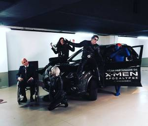 Les Youtubers se muent en mutants X-MEN pour le X-TRAIL Day.