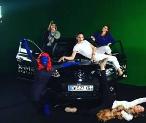 Les Youtubers ont profité du X-TRAIL Day pour tester le crossover familial Nissan X-TRAIL t tourner des vidéos.