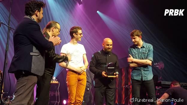 PV Nova en forme au Casino de Paris pour le Prix Deezer Adami 2016