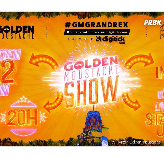 Golden Moustache annonce un énorme show au Grand Rex à Paris