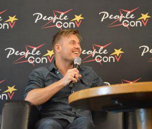 Rick Cosnett à la convention Super Heroes Con 2 le 11 juin 2016