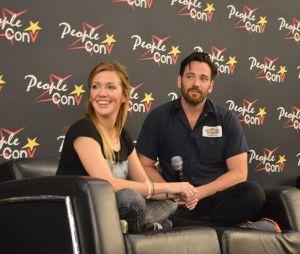 Katie Cassidy et Colin Donnell à la convention Super Heroes Con 2 le 11 juin 2016