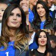 Euro 2016 : Marine Lloris, Jennifer Giroud et Sidonie Biémont au match France-Suisse