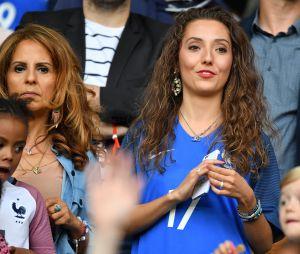 Tiziri Digne, la femme de Lucas Digne, au match France-Suisse