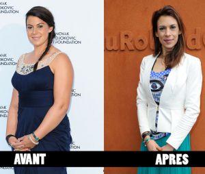 Marion Bartoli avant et après sa perte de poids