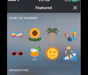 Twitter copie Snapchat et lance les stickers pour customiser les photos