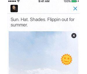 Twitter copie Snapchat et lance une centaine de stickers