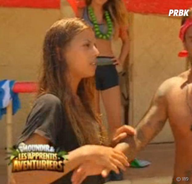 Anissa (Moundir et les apprentis aventuriers) se réconcilie avec Elodie et règle ses comptes avec Valentin