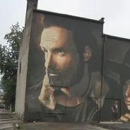 The Walking Dead 💀 : une fresque géante aux Etats-Unis en hommage au papa des zombies