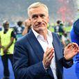 Didier Deschamps félicite ses joueurs