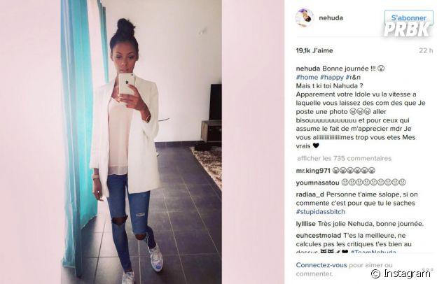 Nehuda (Les Anges 8) répond aux critiques sur Instagram... et supprime son message !