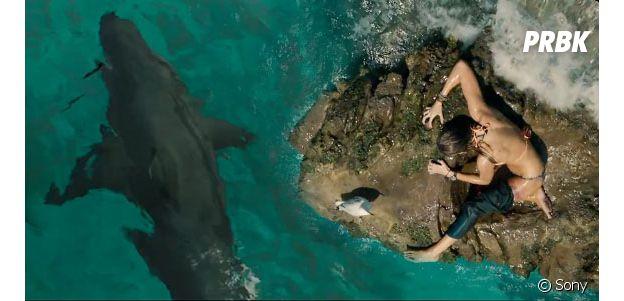 Blake Lively pris au piège dans Instinct de Survie.