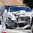 Un automobiliste a violemment percuté la voiture de Kris Jenner.