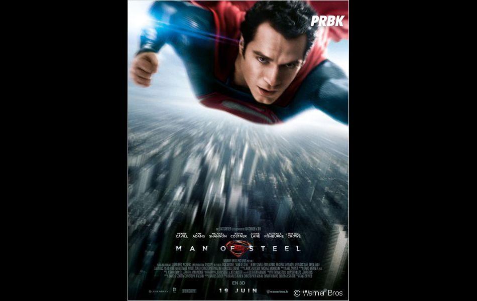 Man of Steel 2 : une suite bien prévue avec Henry Cavill?