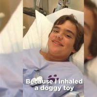 Un enfant avale le jouet qui couine de son chien : sa mère rit trop pour le gronder