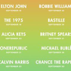 Calvin Harris, Britney Spears... la programmation de l'Apple Music Festival 2016 🎧