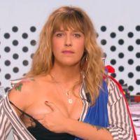 Daphné Bürki montre un sein pour la première de La Nouvelle édition sur C8