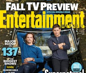 Jared Padalecki et Jensen Ackles en couverture du magazine Entertainment Weekly