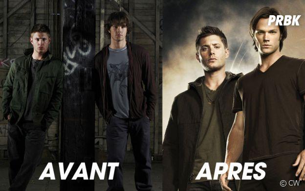 Jared Padalecki et Jensen Ackles avant/après pour les 11 ans de la série