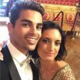 Christophe Licata et sa femme Coralie bientôt parents