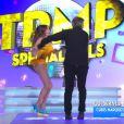 Capucine Anav, très sexy dans sa danse endiablée avec Jean-Michel Maire dans TPMP.