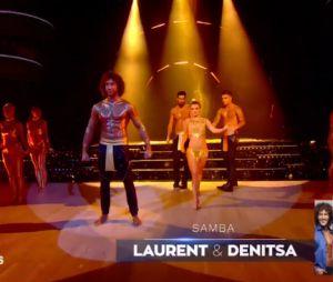 Danse avec les stars 7 : Laurent Maistret fait tomber le haut pour sa samba avec Denitsa Ikonomova