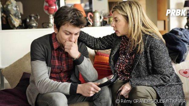Maxence Perrin dans le téléfilm Un fils en 2014