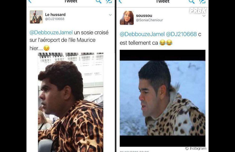 Un sosie de Jamel Debbouze trouvé sur les réseaux sociaux : l'humoriste cherche à le retrouver.