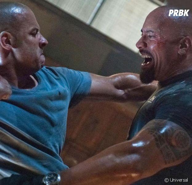 Dwayne Johnson (Fast and Furious 8) assume son clash contre Vin Diesel