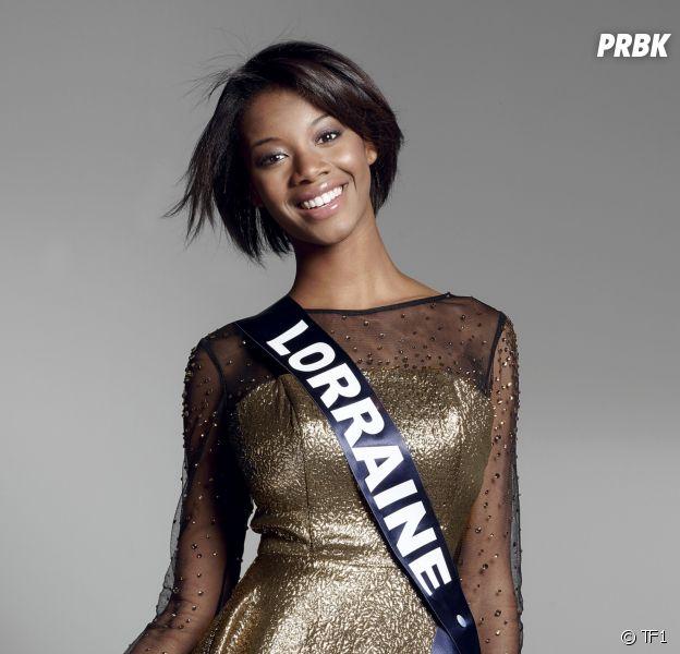Justine Kamara, Miss Lorraine 2016, candidate au titre de Miss France 2017