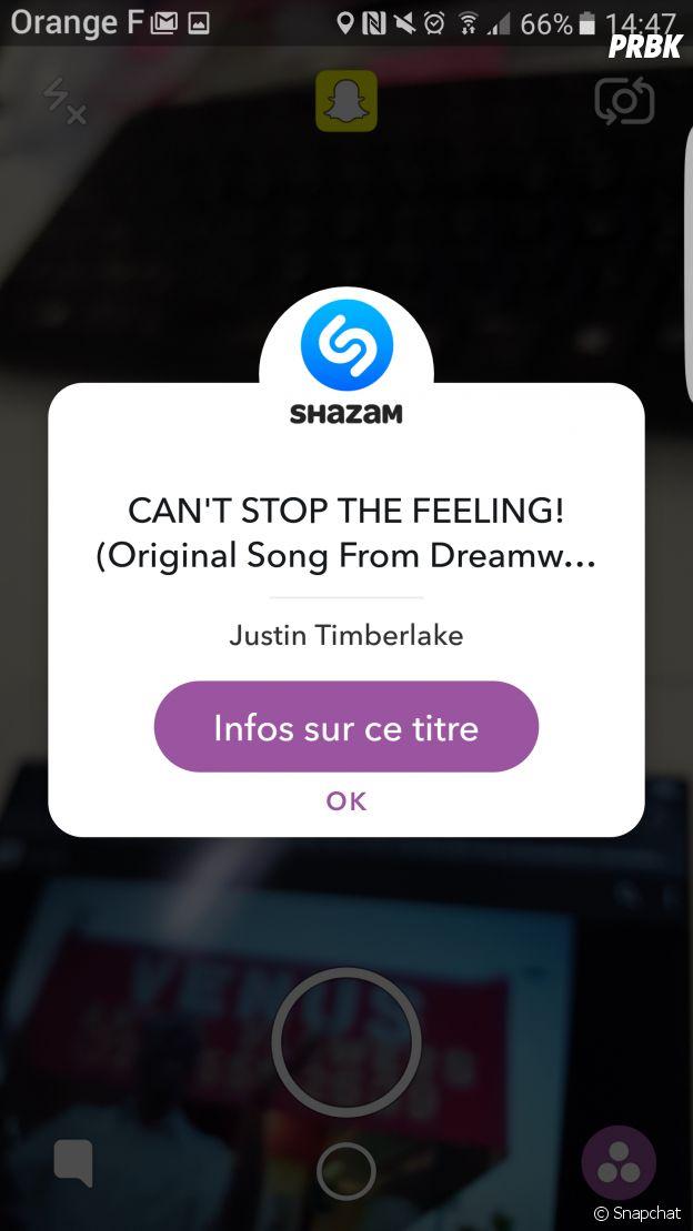 Shazam désormais disponible sur Snapchat !