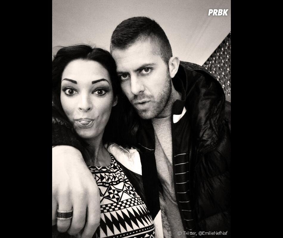 Emilie Nef Naf et Jérémy Ménez amoureux sur Twitter, le 28 février 2014