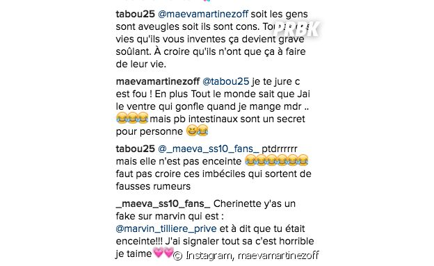 Maeva (Secret Story 10) enceinte de Marvin ? Elle répond à la rumeur sur Instagram !