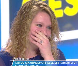 TPMP : la demande en mariage devant Karine Le Marchand dans l'émission du 2 janvier 2017