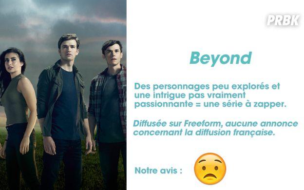 Beyond : notre avis sur la série
