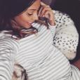 Nehuda (Les Anges 8) fière de son baby bump sur Instagram