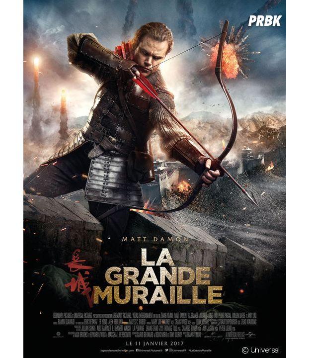La Grande Muraille : l'affiche du film
