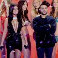 Selena Gomez et The Weeknd, l'ex de Bella Hadid, lors du défilé Victoria's Secret en 2015.