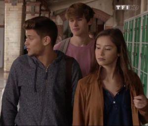 Rayane Bensetti et Léa Lopez dans la série Clem diffusée sur TF1
