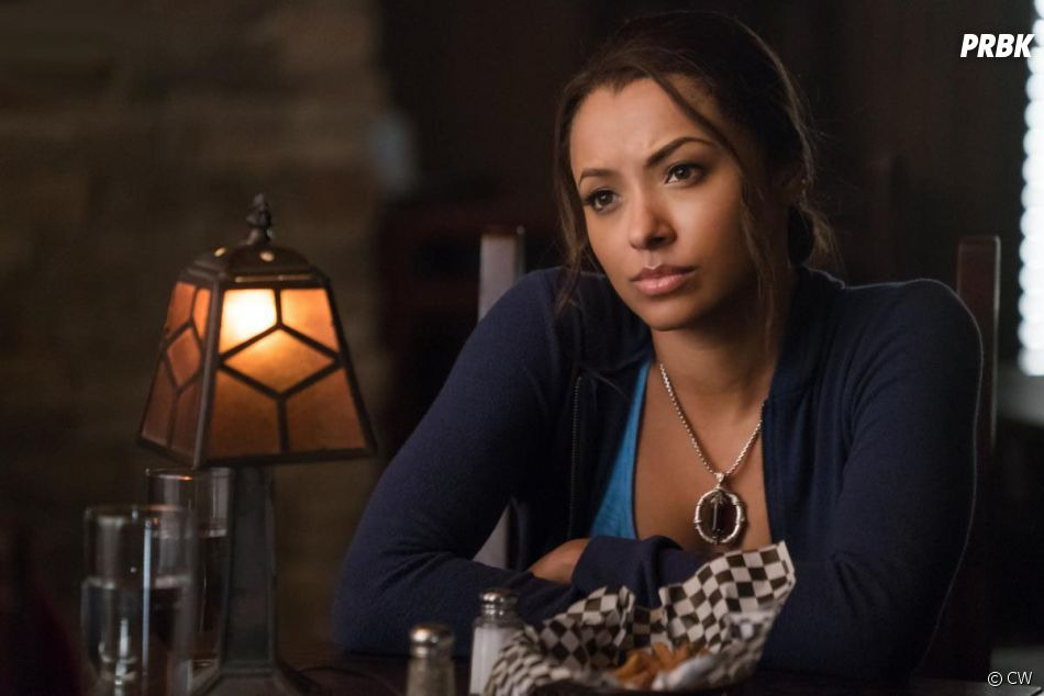 The Vampire Diaries saison 8 : Bonnie (Kat Graham) sur une photo de l'épisode 10