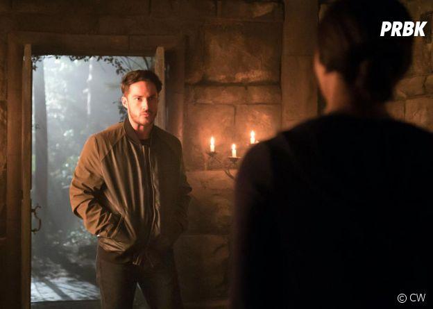 The Vampire Diaries saison 8 : Tyler (Michael Trevino) de retour sur une photo de l'épisode 10